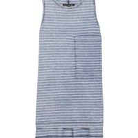 The Bowery Tank - Indigo | rag & bone Official Store