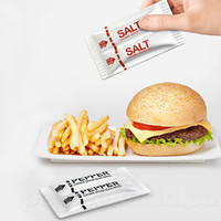 S+P TO GO FAST FOOD SALT & PEPPER SHAKERS