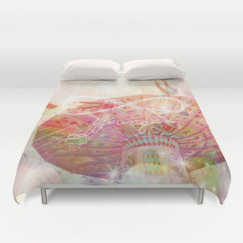 Forever Young Duvet Cover by Lisa Argyropoulos | Society6