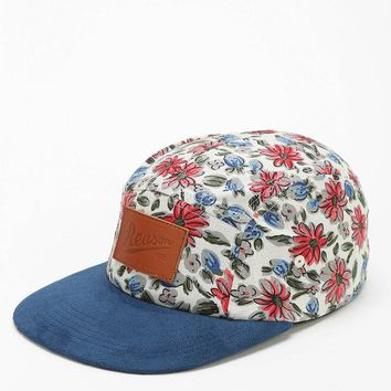 Reason Floral 5-Panel Camp Hat - Urban Outfitters