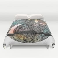 """I live my Daydreams in Music"" Duvet Cover by DuckyB (Brandi)"
