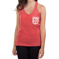 Pressbox Juniors University of Nebraska Cinched Racerback Tank at Von Maur