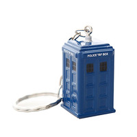 Doctor Who TARDIS Die-Cast Key Chain
