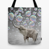 The Simple Things Are the Most Extraordinary (Elephant-Size Dreams) Tote Bag by soaring anchor designs ⚓ | Society6