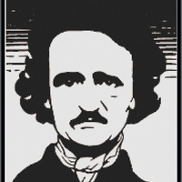 Edgar Allan Poe Cross Stitch Pattern