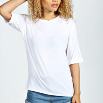 Emma Oversized Turn Back Tee
