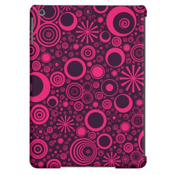 Rounds, Pink-Purple iPad Air Case