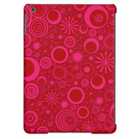 Rounds, Pink-Red iPad Air Case