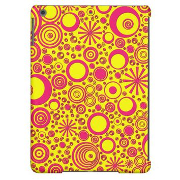 Rounds, Pink-Yellow iPad Air Case