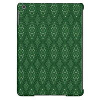 Pave Diamonds Emerald Green iPad Air Case