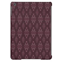 Pave Diamonds Garnet iPad Air Case