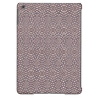 Pave Diamonds Rainbow Purple iPad Air Case