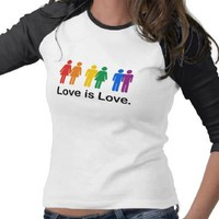 Love is Love Tees from Zazzle.com
