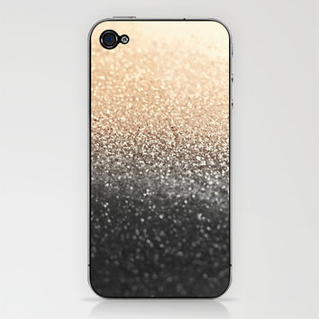 GATSBY BLACK GOLD iPhone & iPod Skin by Monika Strigel | Society6