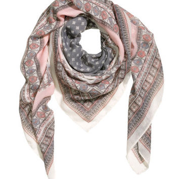H&M Patterned scarf $14.95