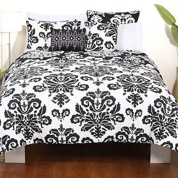 Paloma 5-pc. Reversible Comforter Set