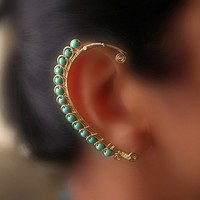 Rhea EarWrap by catchalljewelry on Etsy