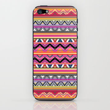 Aztec #7 iPhone & iPod Skin by Ornaart