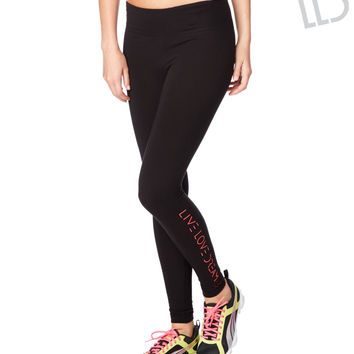 LLD Pop Waistband Skinny Leggings