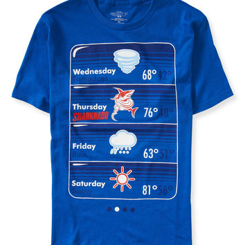 Fishy Forecast Sharknado Graphic T