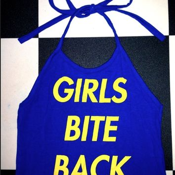 SWEET LORD O'MIGHTY! GIRLS BITE BACK HALTER