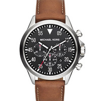 Michael Kors Michael Kors Men's Oversize Brown Chronograph Watch