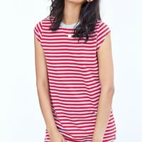 Silence + Noise Gemma Cap-Sleeve T-Shirt Dress - Urban Outfitters
