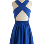 Crisscross off Your List Dress | Mod Retro Vintage Dresses | ModCloth.com