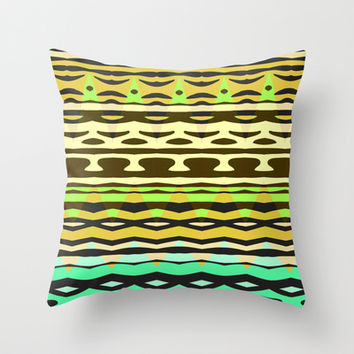 Mix #579 Throw Pillow by Ornaart