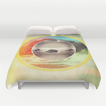 Ode to the Ocean Duvet Cover by DuckyB (Brandi)