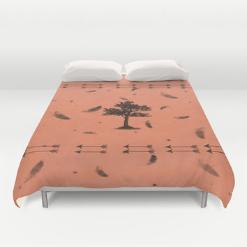 Indian Summer Duvet Cover by DuckyB (Brandi)