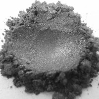 Pewter Loose Mineral Eyeshadow 10 gram jar by LeonorasCosmetics