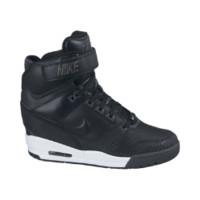Nike Air Revolution Sky Hi Women's Shoes - Black