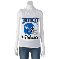Kentucky Wildcats Sleeveless Tee - Juniors
