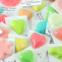 Soaps - 50 Soap Samples - Thank You Gifts for Your Customers - Include with Orders - Attached to Lost River Rags Cards