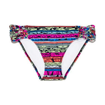 Knot Side Bikini Bottom - PINK - Victoria's Secret