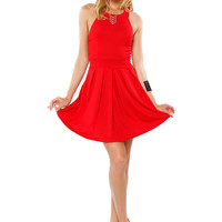 Papaya Clothing Online :: GATHERED RIBBON SHORT DRESS