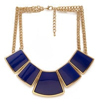 Geo Bib Necklace