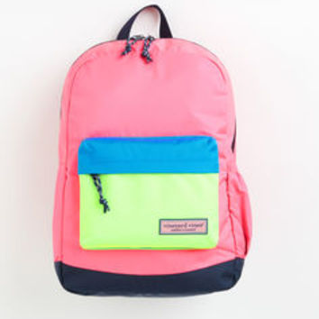 Neon Colorblock Backpack