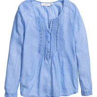 Cotton Blouse - from H&M
