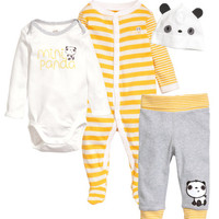 Cotton Jersey Set - from H&M
