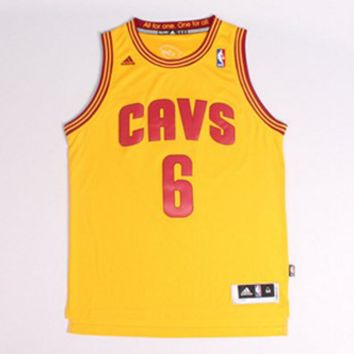 LeBron James 6 Cleveland Cavaliers Cavs NBA Jersey Basketball Jersey