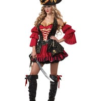 Spanish Pirate Adult Womens Costume – Spirit Halloween