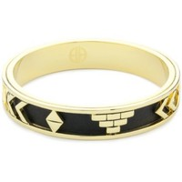 House of Harlow 1960 14k Yellow-Gold-Plated Aztec Bangle - designer shoes, handbags, jewelry, watches, and fashion accessories | endless.com