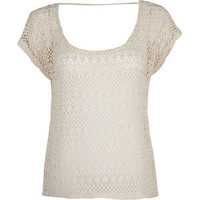 FULL TILT Crochet Womens Boxy Top 196666423 | tops | Tillys.com