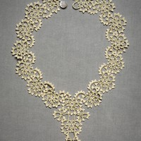 Queen Anne?s Lace Necklace in the SHOP Attire Jewelry at BHLDN
