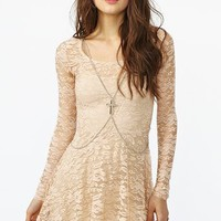 Desert Rose Dress in  What&#x27;s New at Nasty Gal