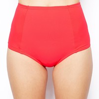 ASOS Mix and Match High Waisted Bikini Pant