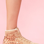 Homg Stud Sneaker - Taupe in What's New at Nasty Gal