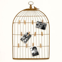 Large Alaina Bird Cage Wall Frame | Shop by Category| Mother&#x27;s Day | World Market